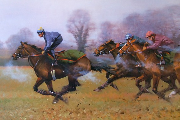Peter Curling Horse Racing Prints
