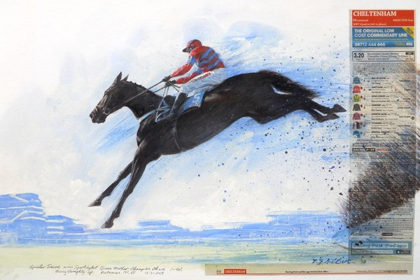 Terence Gilbert Horse Racing Prints