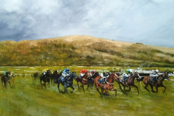 David Mouse Cooper Horse Racing Prints