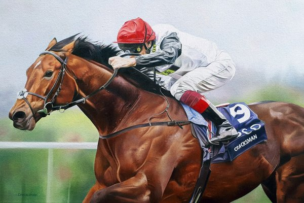 Joanna Stribbling Horse Racing Prints