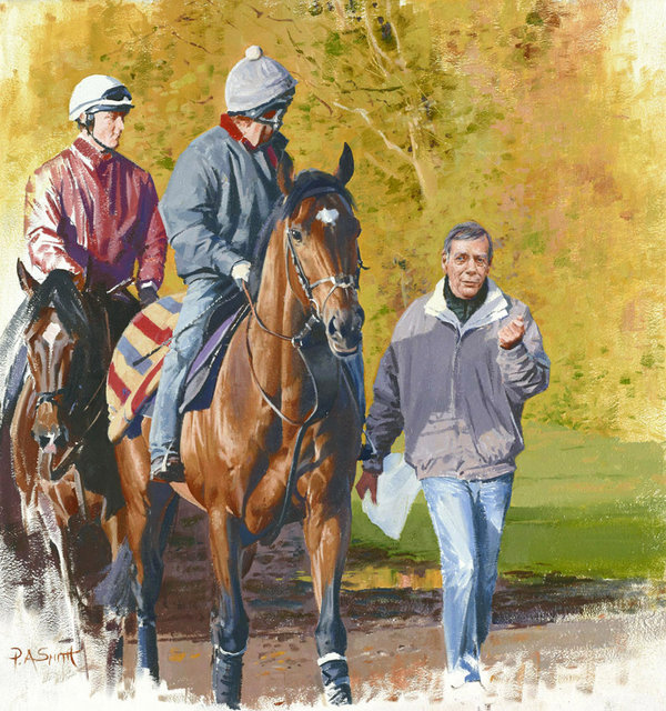 Master & Pupil - Sir Henry Cecil and Frankel by Peter Smith