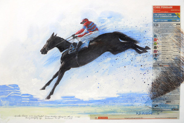 Sprinter Sacre Full Flight by Terence Gilbert