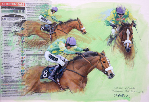 Kauto Star Montage by Terence Gilbert