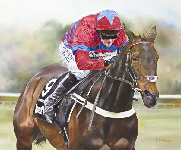 Sprinter Sacre by Joanna Stribbling