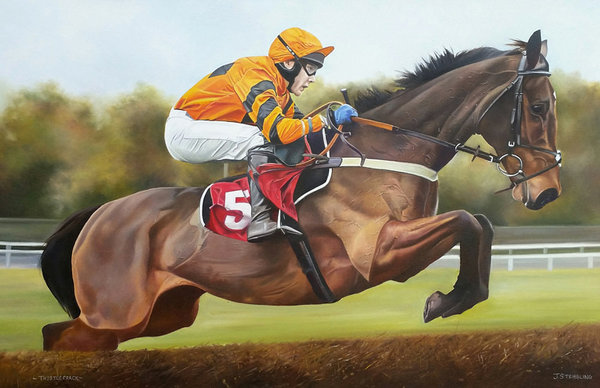 Thistlecrack by Joanna Stribbling