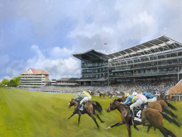 Spirit of The Knavesmire - York by David Mouse Cooper