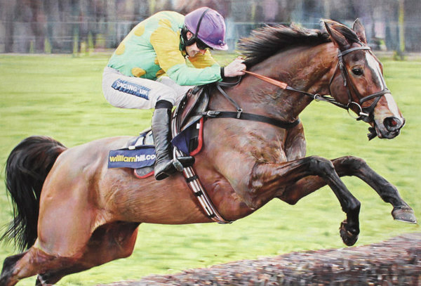 Return of the King - Kauto Star by Denise Finney