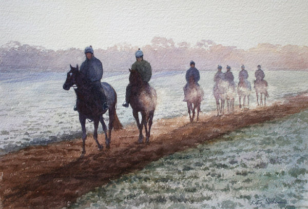 A Touch Of Frost, Newmarket by Katy Sodeau