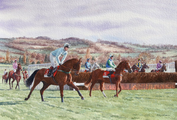Inspecting The First, Cheltenham by Katy Sodeau