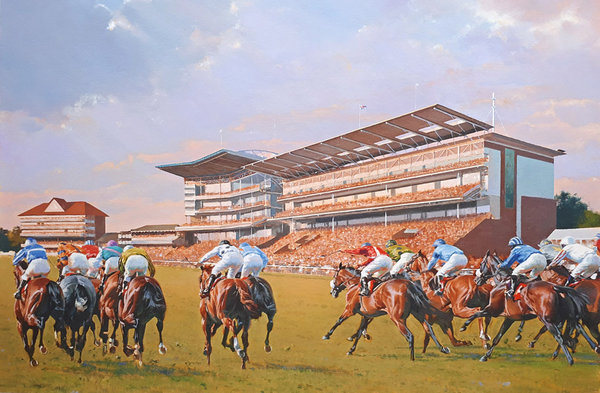 Flying Colours York Races by Peter Smith
