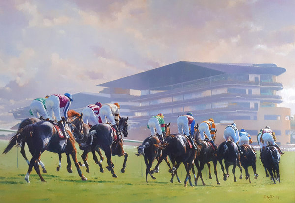 Glory Awaits - Cheltenham by Peter Smith