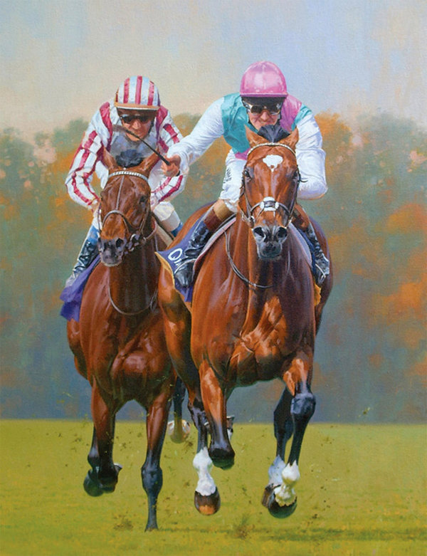 Frankel Champion Stakes by Peter Smith