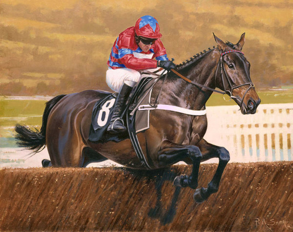 Sprinter Sacre - Cheltenham by Peter Smith