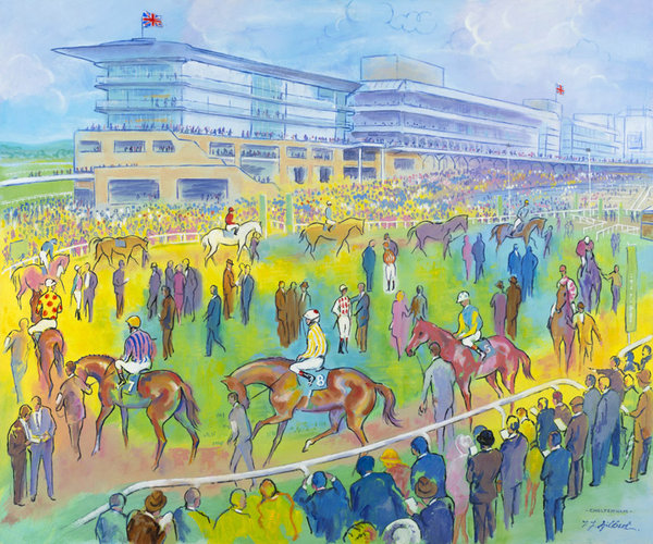 Cheltenham Colours by Terence Gilbert