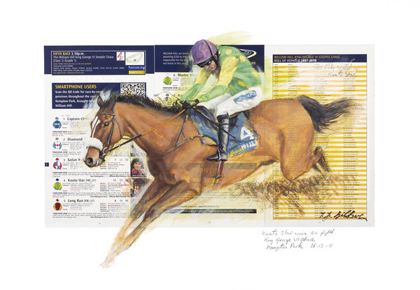 Kauto Star King George VI by Terence Gilbert