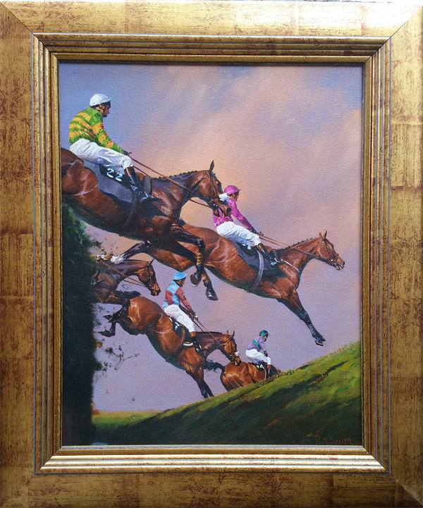 Original Painting - Full Flight by Peter Smith