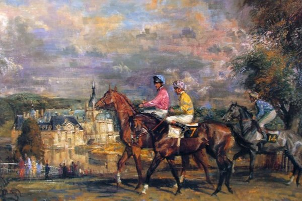 Tom La Fontaine Horse Racing Prints
